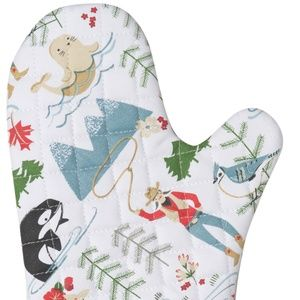 Now Designs True North Oven Mitts Set/2 NWT